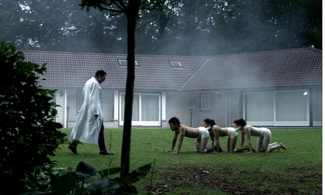 The Human Centipede - the 'three-legged-race' taken to extreme levels...